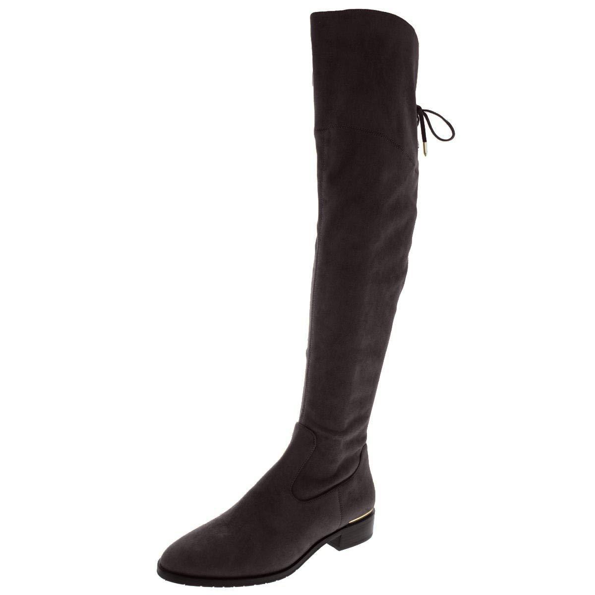 Ivanka Trump Womens Lnde Closed Toe Over Knee Fashion Boots,