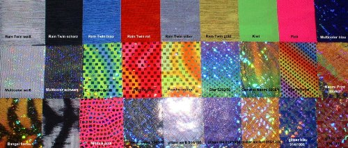Lackoverall Farbe silber, Gr. XL