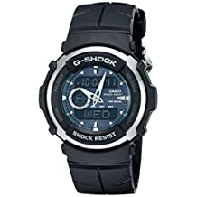Casio Men's G300-3AV G-Shock Ana-Digi Black Street Rider Watch