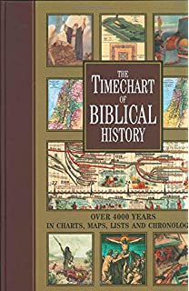 The wall chart of world history from earliest times to the present the timechart of biblical history over 4000 years in charts maps lists and gumiabroncs Choice Image