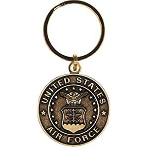US Air Force Keychain Military Products Key Rings Veterans Soldiers Men Women