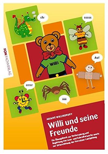 Willi und seine Freunde: Übungsbuch für die Laute.