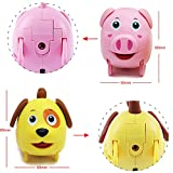 Pig Toys Dog Toys - iPlay, iLearn Animal Toys Toy Animals that Walk Toy Animal Figures Toy Animals Farm