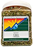 Mother Earth Products Dried Celery, Crosscut, Quart Jar