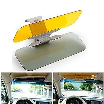 Tages Sonnenschutz f/ürs Auto Blendschutz HD-Vision Visor und Nachtvisier