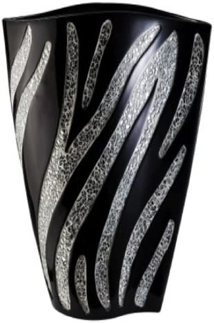 ORE International K-4243-V1 Zebra Decorative Vase