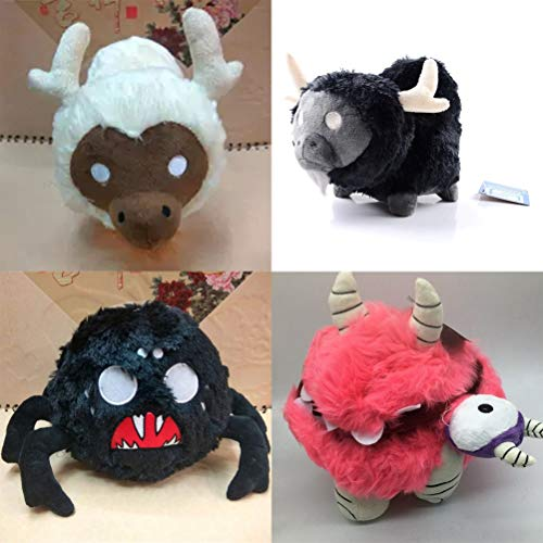 (LQT Ltd 1PC - Don't Starve Chester Plush Doll Do Not Starve Brown Cattle Cow Spider Replica Stuffed Toy (VER))