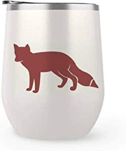 Woods Fox Vinyl Decal for Cars Walls Tumblers Cups Laptops Windows Home Laptop Computer Truck Car Phone Bumper Sticker Decal 15inch