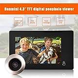 Fosa Door Viewer, 4.3 inch TFT LCD Color Screen Peephole Viewer Doorbell Home Security Camera