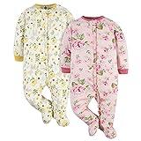 Gerber Baby Girls' 2-Pack Sleep 'N Play, Pink