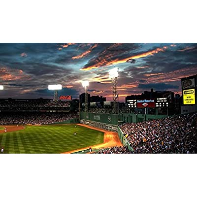 HCYEFG Jigsaws 1000 Pieces Puzzle Boston Fenway Park Beysball Sports Game DIY Art for Grown Ups Adults: Home & Kitchen