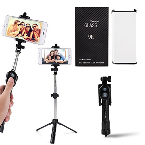 SumacLife BLUE TOOTH Remote Control Selfie Stick and Mini Tr
