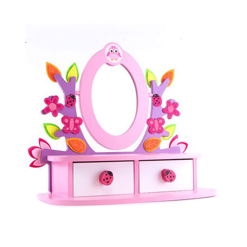 Nina Collection Purple Tree Vanity Dressing Table Mirror Toy