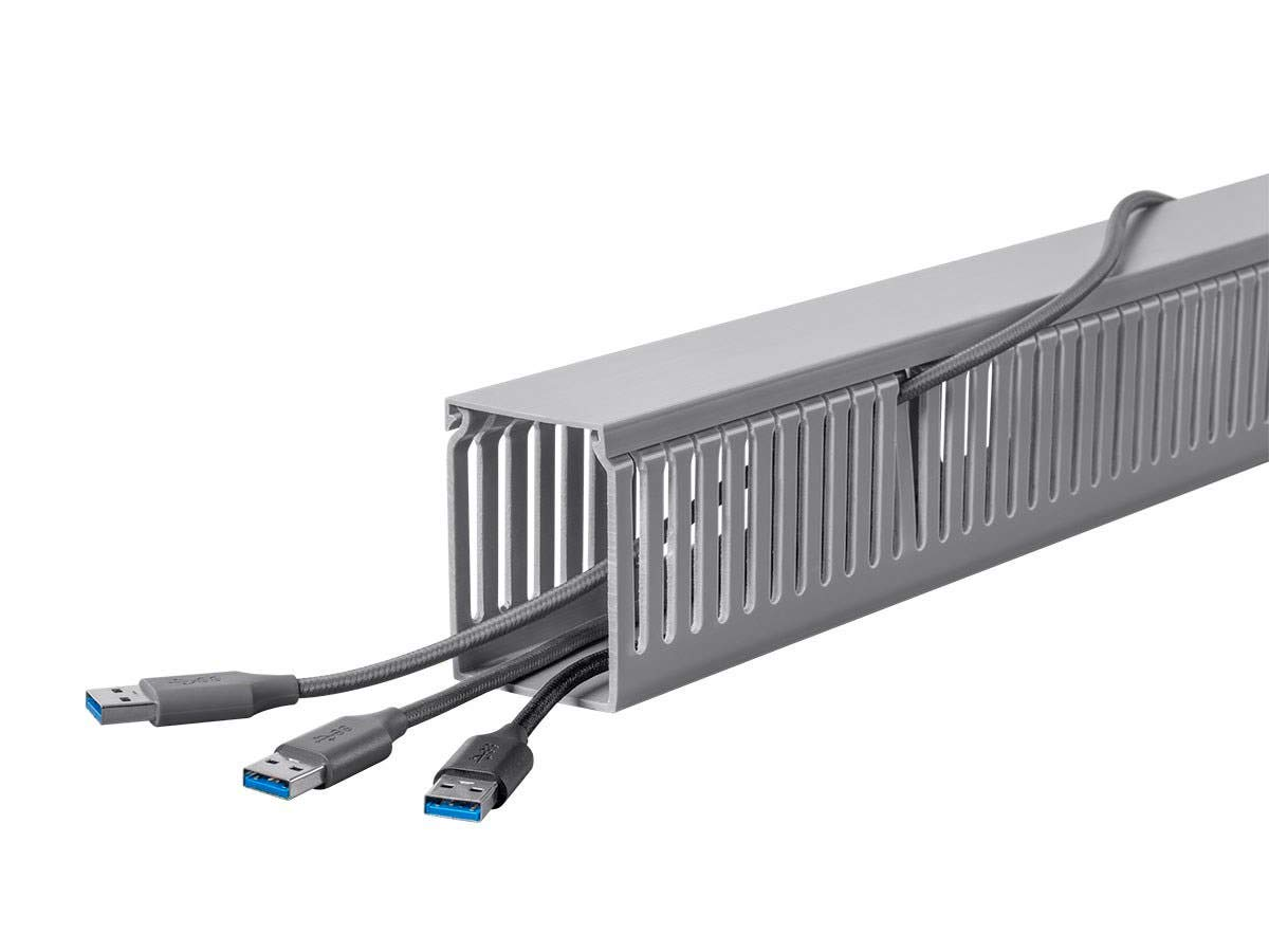 Monoprice Open Slot Wiring Raceway Duct with