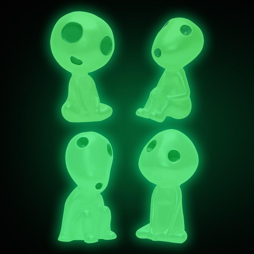 Auto Armaturenbrett Ornament innen Dekoration Luminous Alien Puppen Typ A