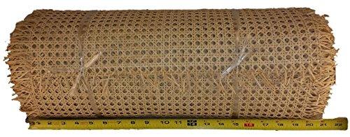 10' Roll 1/2'' Fine Open Cane Webbing 18'' Wide, 10 Foot Long Roll