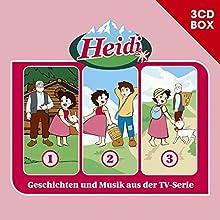 Heidi-3-CD Hörspielbox Vol.1