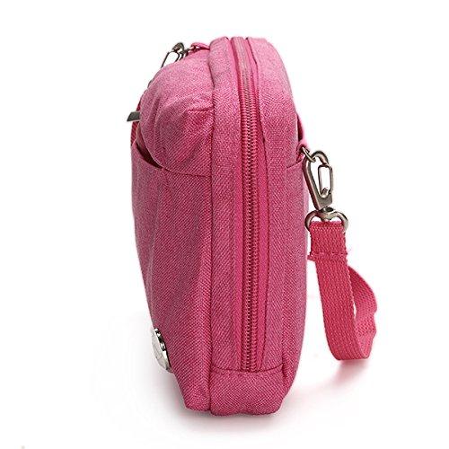 Sac Rouge Casual Multifonction Crossboby Cosmétique De Léger TENGGO Sac Poids Shoulderbags Rangement Nylon Sac Jaune zxnpqA6