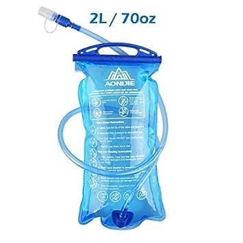 TRIWONDER TPU Bolsa de Agua Soft Flask 1.5-2-3L Vejiga de Hidratación Deportivas sin BPA a Prueba de Fugas Ideal para Mochila de Hidratación para ...