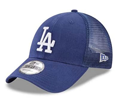 Image Unavailable. Image not available for. Color  New Era MLB Los Angeles  Dodgers Trucker 9Forty Adjustable Baseball Hat 11591203 1280b6024d0