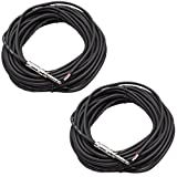 Seismic Audio QRW50Pair 50-Feet Raw Wire to 1/4-Inch Speaker Cable, 16 Guage, PA/DJ/Home Audio