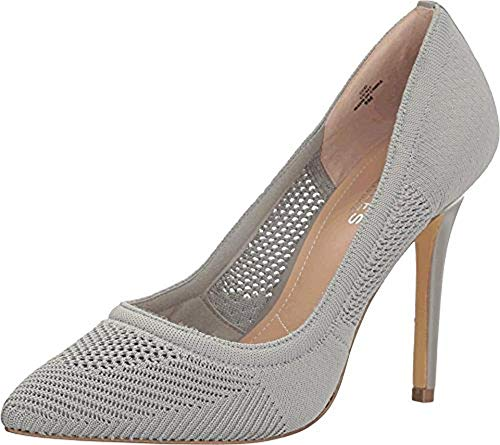 CHARLES BY CHARLES DAVID Women's Pacey Stone Grey Stretch Knit Sandal (David Stone Shoes)