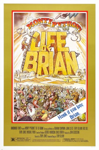 LIFE-OF-BRIAN-MONTY-PYTHON-movie-poster-CLASSIC-BRITISH-COMEDY-TROUPE-24X36-reproduction-not-an-original
