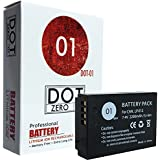 DOT-01 Brand Canon EOS M50 Battery for Canon EOS M50 DSLR and Canon M50 Battery Bundle for Canon LPE12 LP-E12