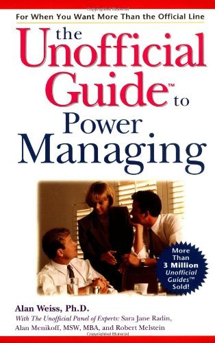 Download The Unofficial Guide to Power Managing: 1st (First) Edition pdf epub