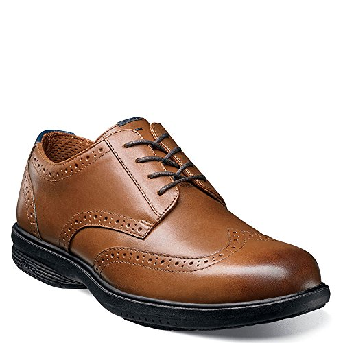 Nunn Bush Mens Maclin St. Vleugeltip Oxford Tan