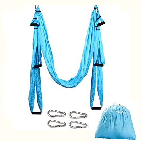 Budalga Yoga Swing Sling Trapeze Inversion Equipment Flying Yoga Hammock Anti-Gravity by Budalga (Image #1)