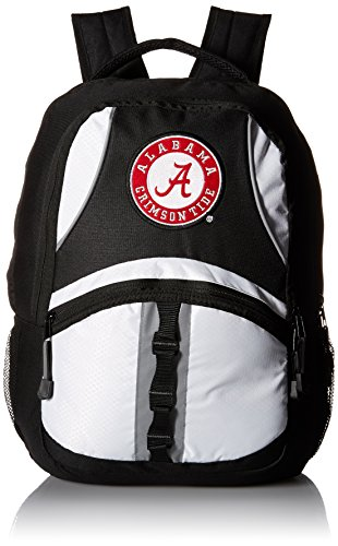 NCAA Alabama Crimson Tide Captain BackPack, 18.5-Inch, Black