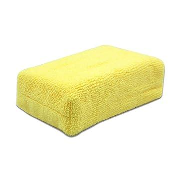 lzndeal - Limpiador para limpiaparabrisas de Esponja de Fibra Fina esponjas de Limpieza automático del Cuerpo de la Ventana: Amazon.es: Hogar