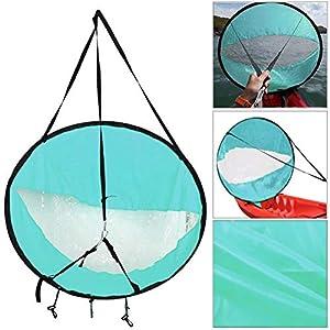 Guajave Kayak Barca a Manovella Nautica Canoa SUP Racchettone Tavoletta Nautica con Trasparente Finestra da Pesca Vogare… 2 spesavip