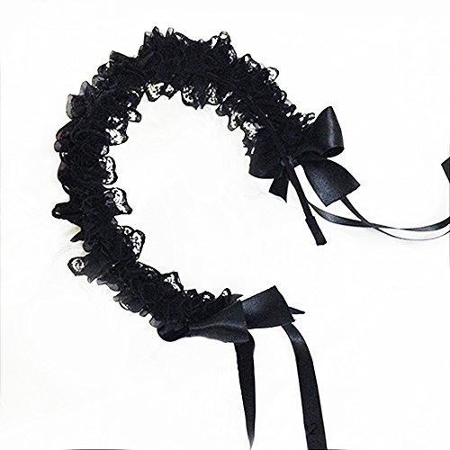 Lace Headband Hair Accessories Bow Hairpin (Lolita Bow)