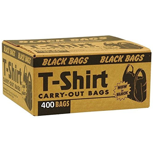Black Plastic Waste Bags - 4
