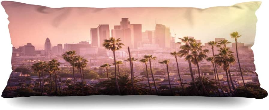 Ahawoso Zippered Body Pillow Cover