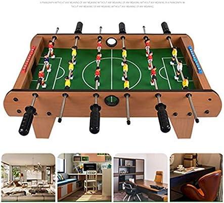 Guohailang Mesa de futbolín Adultos y niños Mesa de futbolín/Juego de fútbol recreativo portátil de Mano de fútbol de Mesa de futbolín Mesa for Sala de Juegos Ocio Futbolín Futbolín: Amazon.es: Hogar
