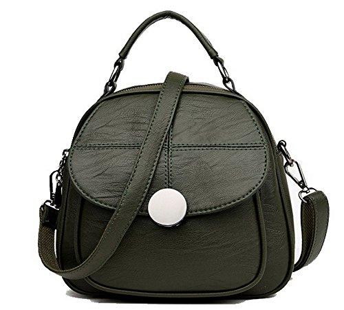 à Vert Daypack dos CCAFBP181520 Sacs Boucle Achats Vert à Tourisme VogueZone009 Femme Sacs bandoulière YUOw0z