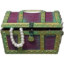 Penn Plax Aerating Action Ornament, Small Treasure Chest - Opens Closes