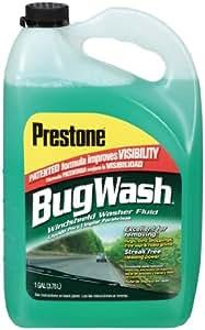 Prestone AS257 Bug Wash Windshield Washer Fluid - 1 Gallon