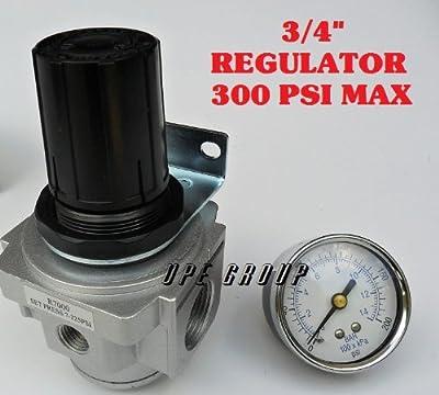 "Air Pressure Regulator for compressor compressed air 3/4"" FREE GAUGE"