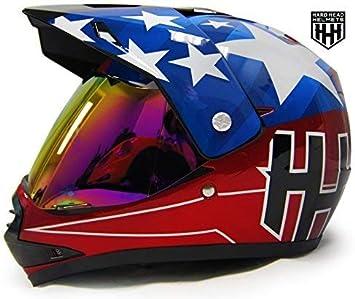 HHH DOT Youth Helmet for Dirtbike ATV Motocross MX Motorcyle Helmet with VISOR HARDHEADHELMET KIDS/_VISOR