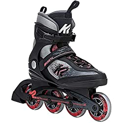 K2 Skate Women's Kinetic 80 Inline Skate, Gray Coral, 9