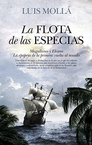 Portada del libro La flota de las especias de Luis Mollá