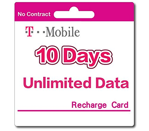 T-Mobile Prepaid SIM Card Unlimited Talk, Text, and Data (USA