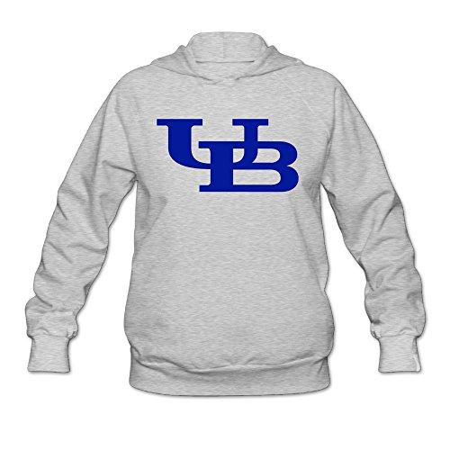 [Boxer98 Women's Sweater University At UB Buffalo Size XL Ash] (Buffalo Bob Costume)