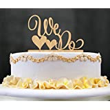 Wedding Cake Toppers, KOOTIPS We Do Wooden Wedding Cake Topper Party Cake Decoration