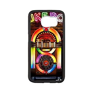 Jukebox Samsung Galaxy S6 Cell Phone Case White Wwltz