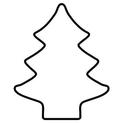 Kaiser Cookie Cutters Molde para Galletas con Forma de árbol de Navidad, Acero Inoxidable